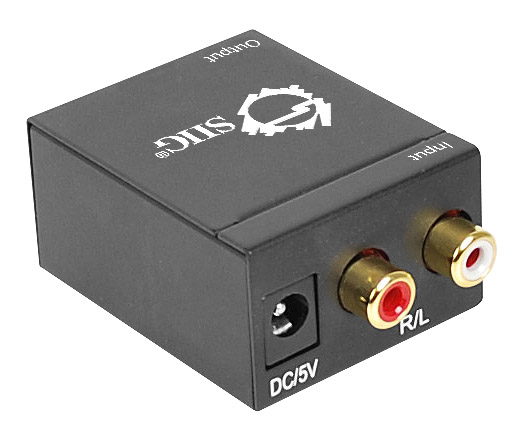 siig ce r stereo audio to digital audio