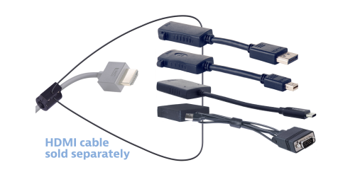 Liberty AV 4K Mini DisplayPort to HDMI Cable Adapter