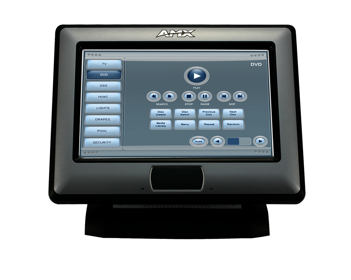 Amx Nxt Ca7 Fg2258 09 7 Quot Modero Tabletop 16 9 Touch Panel