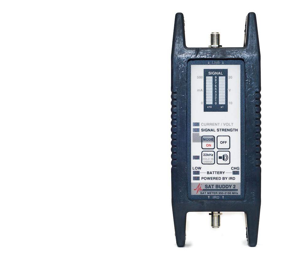 Buddy 2 rf signal satellite meter for aligning dish antennas av ace