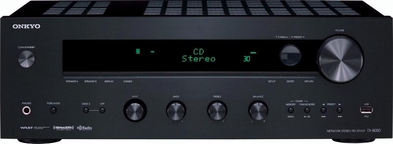 Onkyo TX 8050 Network Stereo Receiver W Zone 2 Pre Out